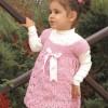 Tığ Örgü ile Çocuk Elbise ve Yapılışı