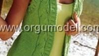 2013 Bayan Örgü Yelek Modelleri