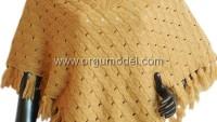 Sarı Örgü Panço