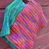 Renkli Örgü Çocuk Pançosu