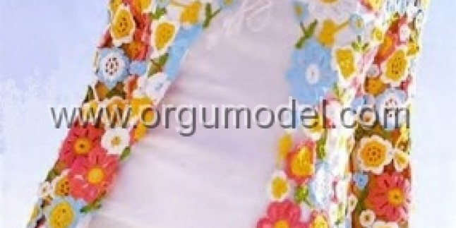Çiçekli Bolero Modeli