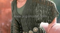 Yarasa kollu bayan tunik modelleri