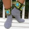 Kemerli Patik Çorap