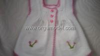 Elbise Şeklinde Bebek Yeleği
