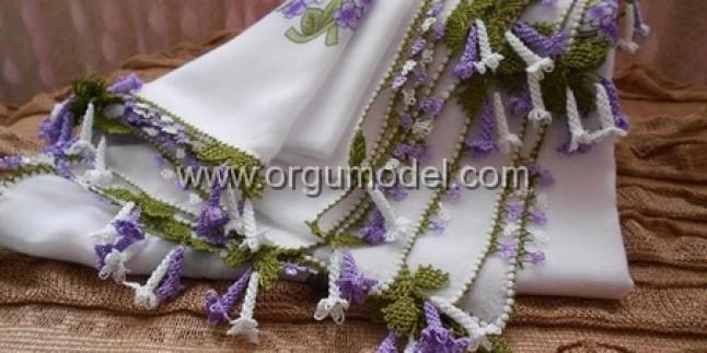 Sümbül Çiçeği İğne Oyası Modeli