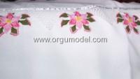 Yapraklı Kaya Çiçeği Oyası