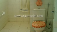 Çarkıfelek Desenli Dantel Banyo Takımı