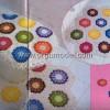 Renkli Motifli Banyo Takımı