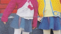 Ajurlu Çocuk Hırkası Yapımı