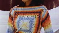 Batik Desenli Sıradışı Zerafet