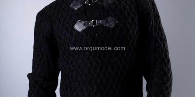 Erkek Boğazlı Kazak Modelleri